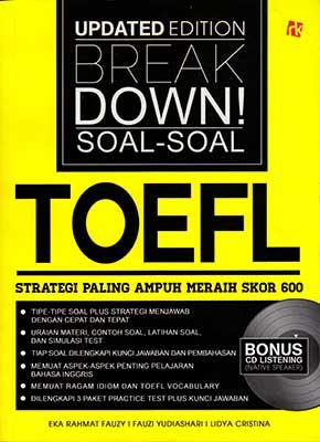 Update Edition Breakdown Soal-soal TOEFL