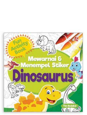 fun-activity-mewarnai-&-menempel-stiker-dinosaurus