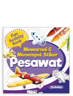 fun-activity-mewarnai-&-menempel-stiker-pesawat