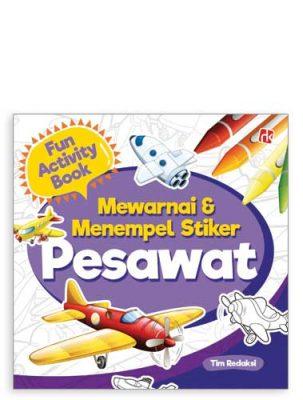 fun-activity-mewarnai-&-menempel-stiker-pesawat