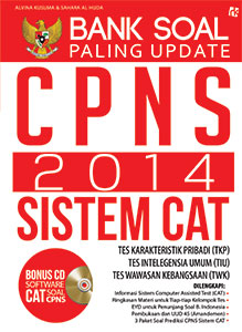 Bank Soal Paling Update CPNS 2014 Sistem CAT