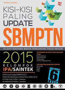 Kisi-kisi Update SBMPTN 2015 Kelompok IPA/SAINTEK