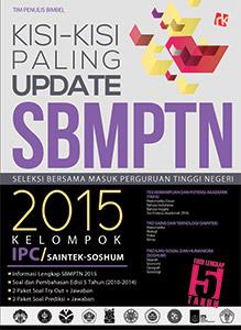 Kisi-kisi Update SBMPTN 2015 Kelompok IPC/SAINTEK-SOSHUM