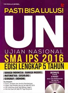 Pasti Bisa Lulus! UN SMA IPS 2016