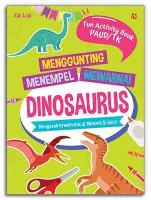 Menggunting-Menempel-Mewarnai-Dinosaurus