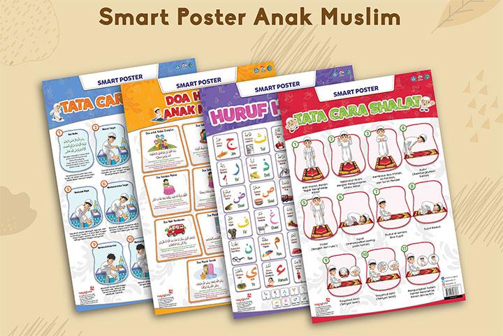 smart poster untuk anak muslim