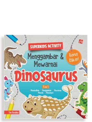 superkids-activity-menggambar-&-mewarnai-dinosaurus